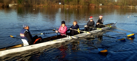 christmas sculling